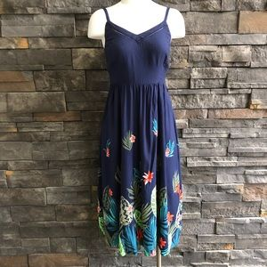 Old Navy Floral Print Dress, Small